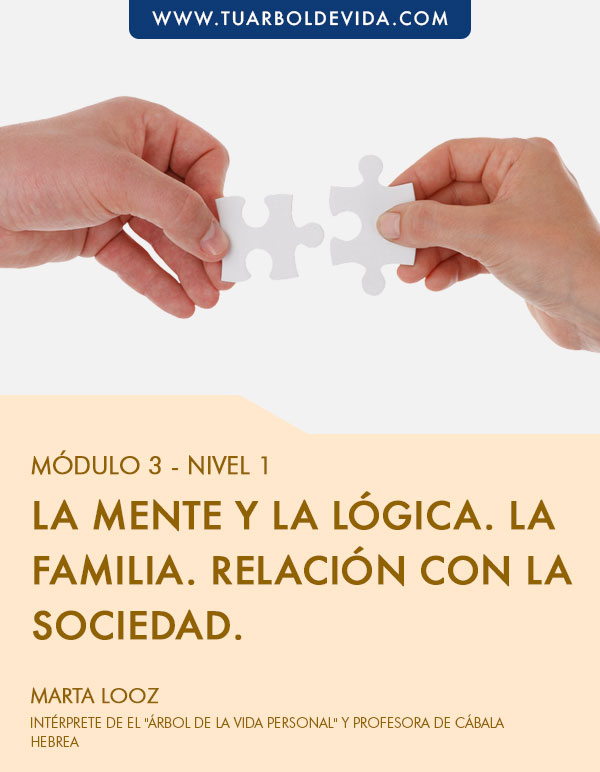 Módulo 3:  La mente y la lógica. La familia. Relación con la sociedad.