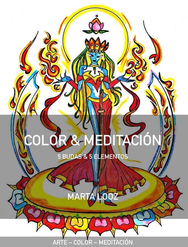 Color y Meditación: 5 Budas y 5 Elementos