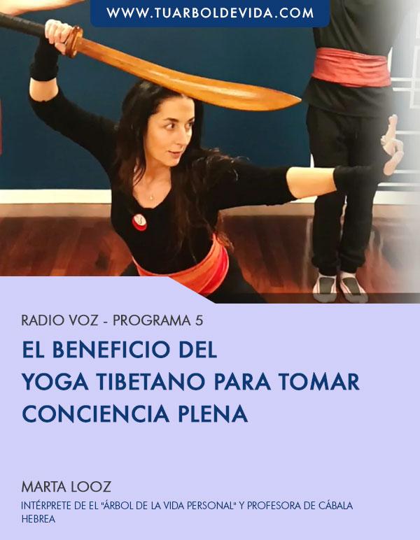 RADIO VOZ – Los beneficios del yoga tibetano